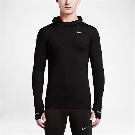 fitted hoodie mens nike dri fit element hoodie ss16 kapüşonlu erkek swetshirt