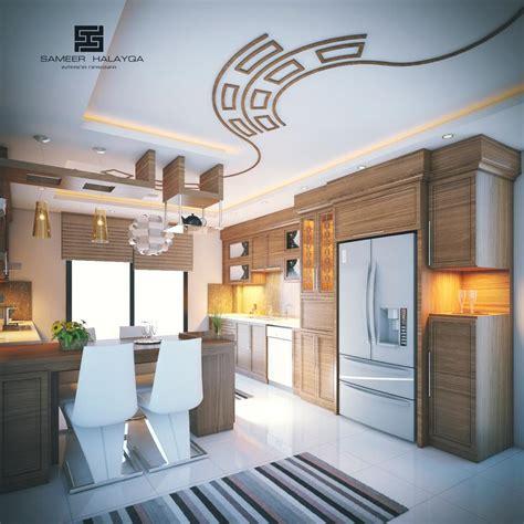 kitchen gypsum ceiling design 25 gorgeous kitchens designs with gypsum false ceiling 4927