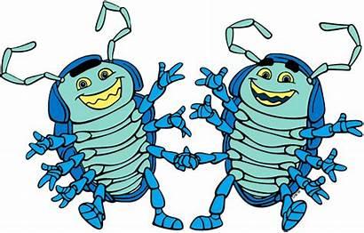 Tuck Roll Bug Dim Disney Francis Slim