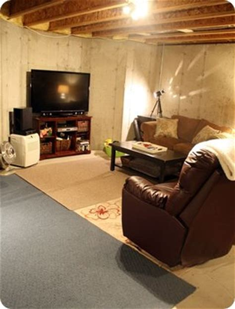 best 25 unfinished basement decorating ideas on