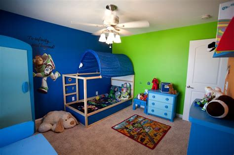 Jacob's Toy Story Toddler Bedroom Room With Ikea Furniture