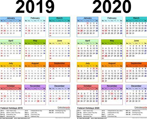 calendar  printable  year excel