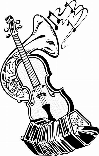 Instruments Musical Illustration Instrument Drawing Clipart Dance