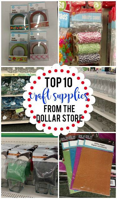 top  craft supplies   dollar store kids craft