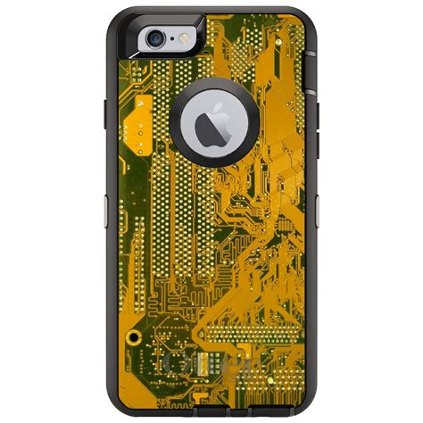 Distinctink Custom Black Otterbox Defender Series Case