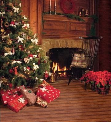christmas background tree wooden floor custom