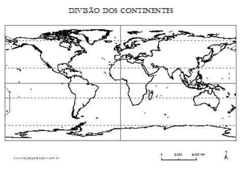 Mapa Dos Continentes Em Preto E Branco Hippie Blog
