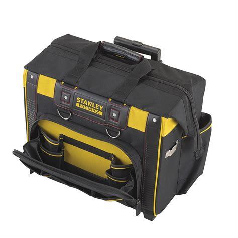 bag with wheels stanley tools storage tool storage storage