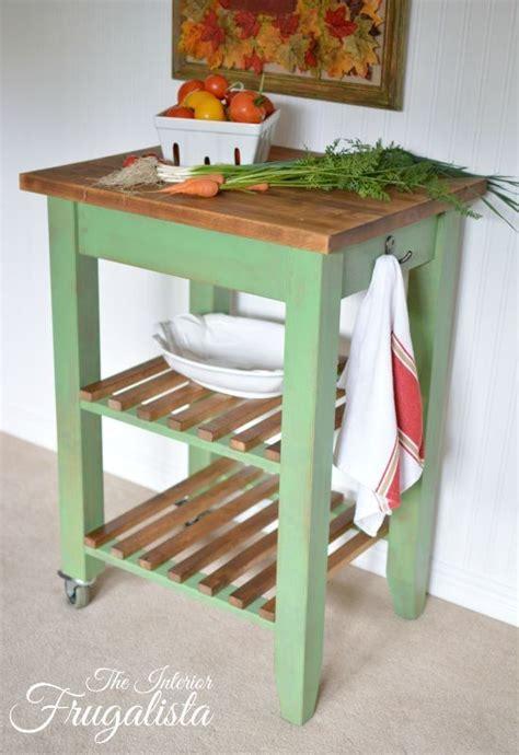 Ikea Bekvam Kitchen Island Cart by Ikea Bekvam Cart Makeover With Farmhouse Charm Kitchen