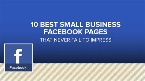 small business facebook pages   inspiration
