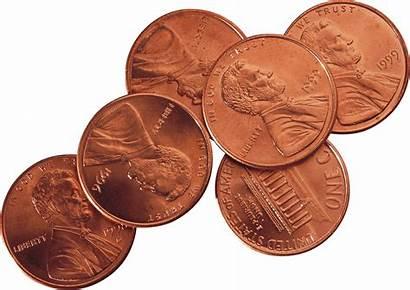 Coins Metal Transparent Cobre Coin Penny Monedas