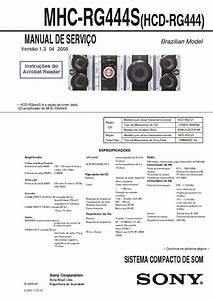 Sony Mhc-gx450  Mhc-rg444s  Ss-wg450 Service Manual