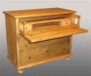 Meuble Secrétaire Ancien : commode ancienne en pin meuble ancien en pin modifi ~ Teatrodelosmanantiales.com Idées de Décoration