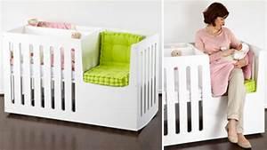 Lit Bébé Berceau : berceau bebe avec espace calin avec maman et lit enfant ~ Teatrodelosmanantiales.com Idées de Décoration