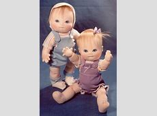 Items similar to Baby Doll SEWING PATTERN 12 inch Jointed