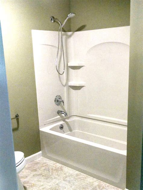 Shower In - the tub shower replacement package nh bath builders