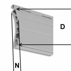 Einzelne Lamellen Für Rolladen : kunststoff rolladen deckbreite 55 mm bei rolloscout ~ Lizthompson.info Haus und Dekorationen