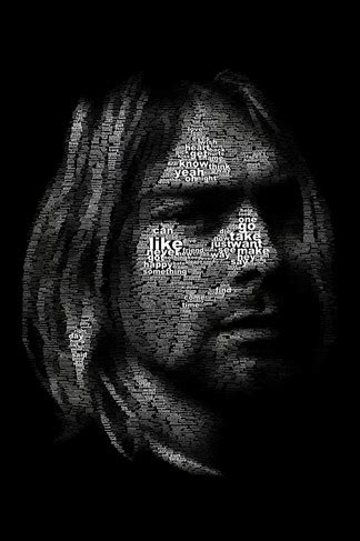 kurt cobain art iphone  wallpaper