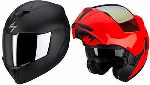Casque Scorpion Modulable : casque moto scorpion modulable voiture moto et auto ~ Medecine-chirurgie-esthetiques.com Avis de Voitures