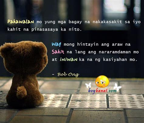 bob ong love quotes  sayings boy banat