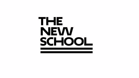 Brand New New Logo And Identity For The New School By Pentagram