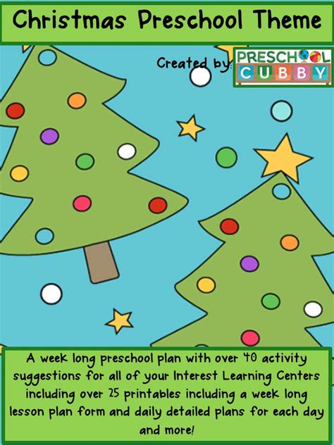 theme resource packet 204 | christmas theme resource cover