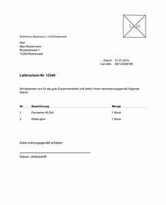 Unbestellte Ware Erhalten Ohne Rechnung : lexoffice kostenlose vorlage muster f r ihren lieferschein ~ Themetempest.com Abrechnung