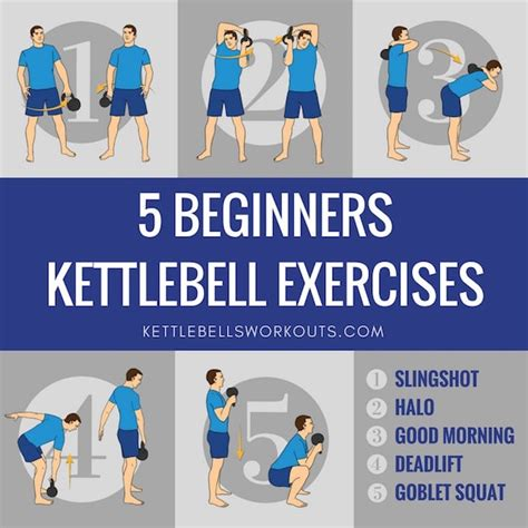 kettlebell exercises beginners workouts training along follow