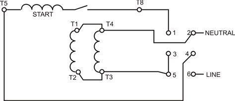 The Wiring Diagram For Reversing Electric Motor