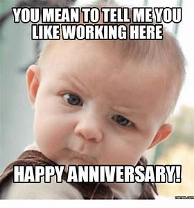 20 Memorable an... Work Anniversary Funny Quotes