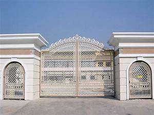 house gate design modern neo classic house gate and house With iron gate designs for homes