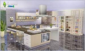 Küchen Esszimmergarnituren : sims 4 cc 39 s the best kitchen set by simcredible designs sims 4 cc 39 s the best pinterest ~ Bigdaddyawards.com Haus und Dekorationen