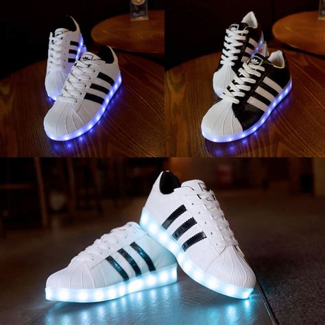 led light up shoes led light couples sneakers light up