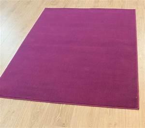 moderne violet aubergine prune couleur tapis en grande With tapis couleur prune