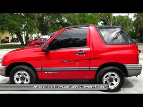 2003 Chevrolet Tracker 2dr Convertible 2wd Base New Port