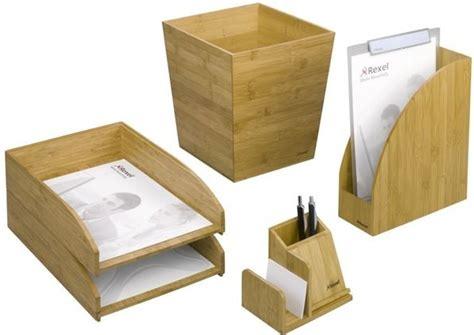 accessoires de bureau de luxe bamboo la gamme d accessoires de bureau 100 233 colo