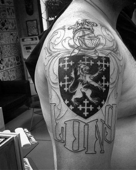 50 Last Name Tattoos For Men - Honorable Ink Ideas
