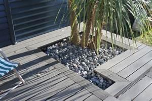 retour sur lamenagement dune jolie terrasse en bois With idee deco maison neuve 10 amenagement dune terrasse en bois composite gris
