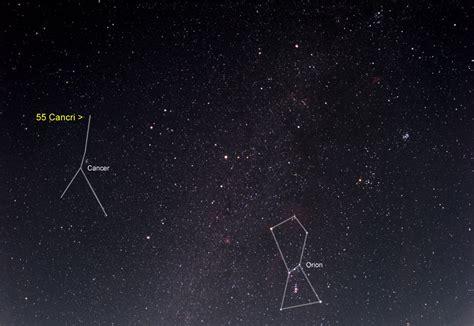 nasa fifty  cancri   night sky