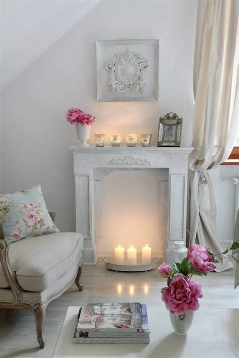 66 Shabby Chic Living Room Ideas  Old And New In The