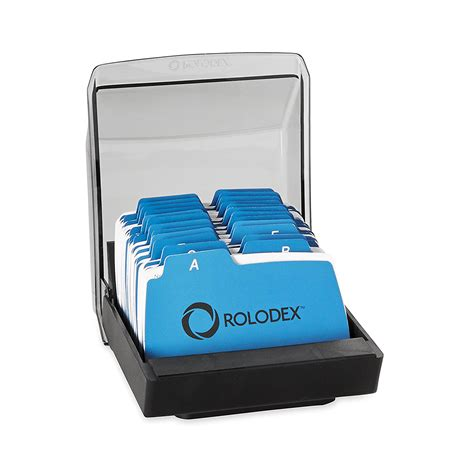 3x5 business cards rolodex covered tray card file with 2 25 x 4 inch