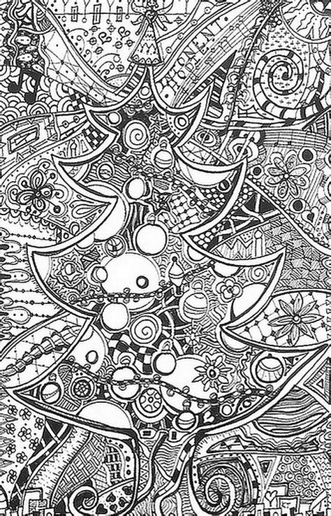 art therapy coloring page christmas christmas