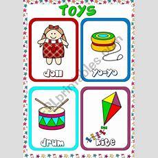 Toys  Flashcards (2)  Esl Worksheet By Mada1