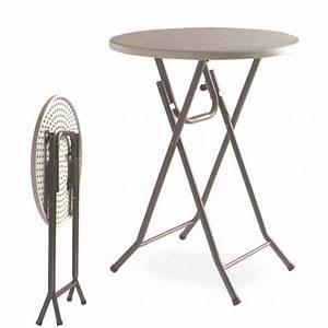 Table Haute Pliable : tables hautes mange debout comparez les prix pour ~ Teatrodelosmanantiales.com Idées de Décoration