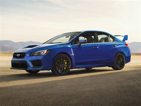 subaru wrx sti models trims information