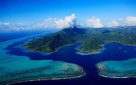 raiatea society islands french fond decran geographique