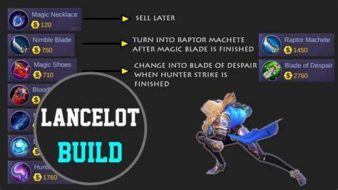Lancelot Build Mobile Legends