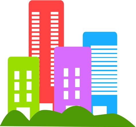 Building Clipart by Buildings Free Stock Photo Illustration Of City