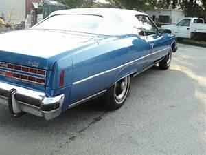 Pontiac Bonneville Convertible 1974 Blue For Sale