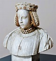 Marble bust of Barbara Zápolya by Anonymous, first quarter ...